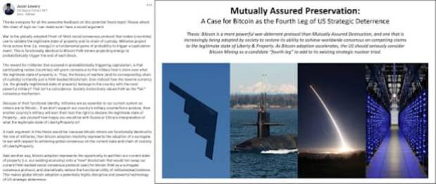 mutually assured preservation