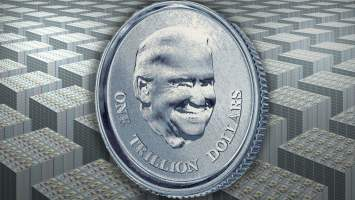 us lawmakers float the idea of minting a trillion dollar platinum coin to avoid sovereign debt crisis