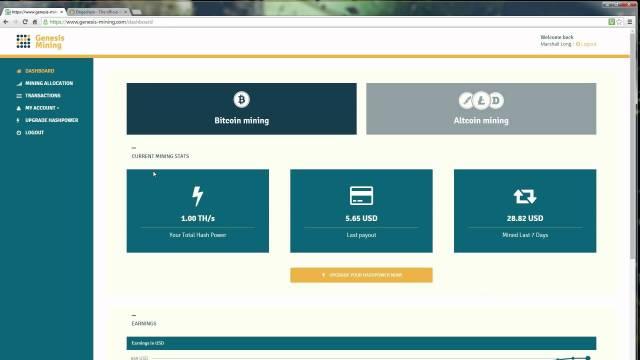 Genesis Mining – Cloud Mining Review 1