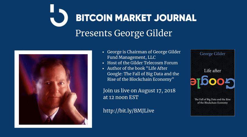 George Gilder at BMJLive
