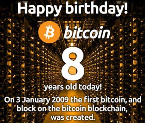Bitcoin oslavuje 8, Bitcoinpit 4 roky