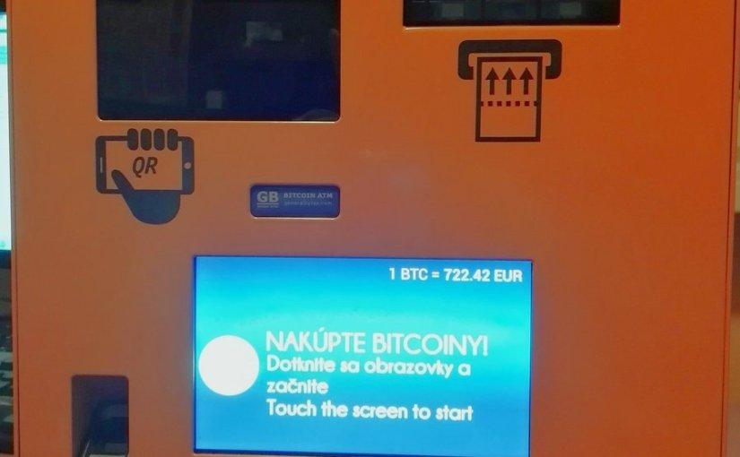 V Bratislave pribudne nový bitcoin automat na Tomášikovej