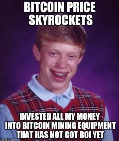 bad luck brian bitcoin meme