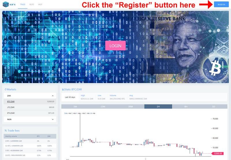 Ice Cubed exchange register
