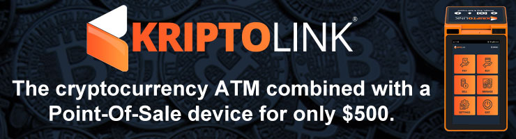 KriptoLink bitcoin POS ATM