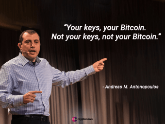 Not your keys, not your bitcoin