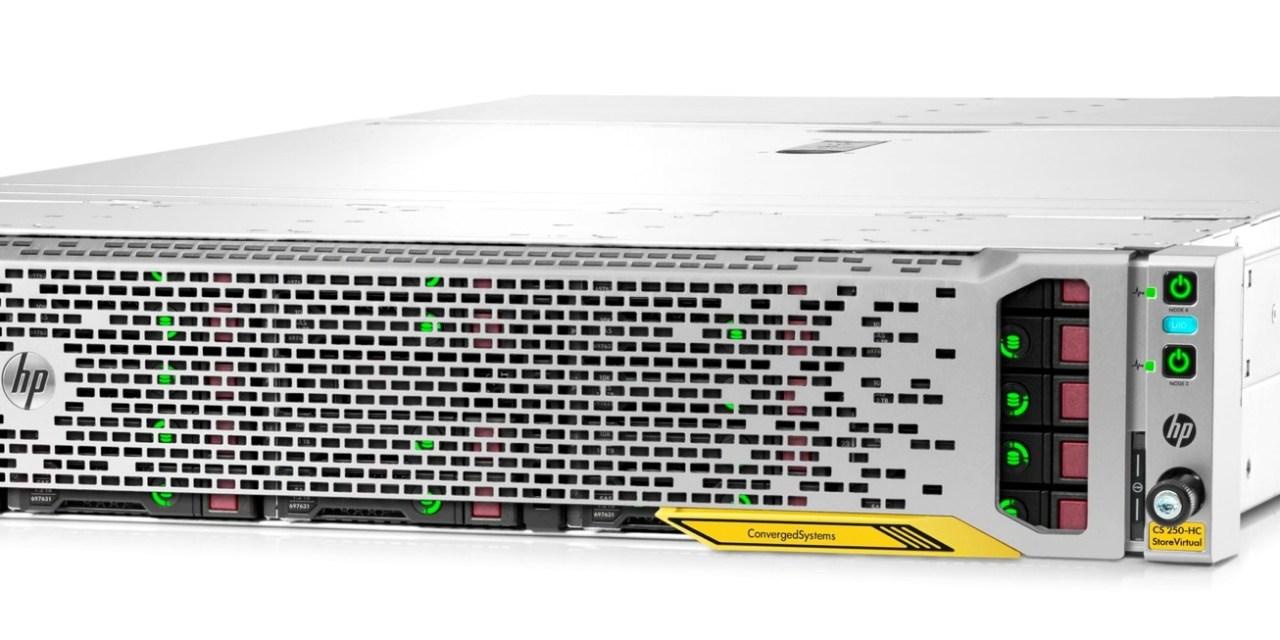 HPE Hyper-Converged 250 goes Microsoft