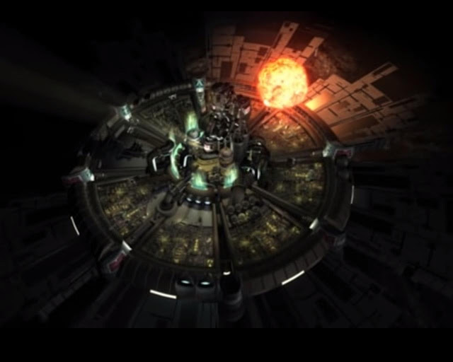 Final Fantasy VII Screenshot mako reactor explosion