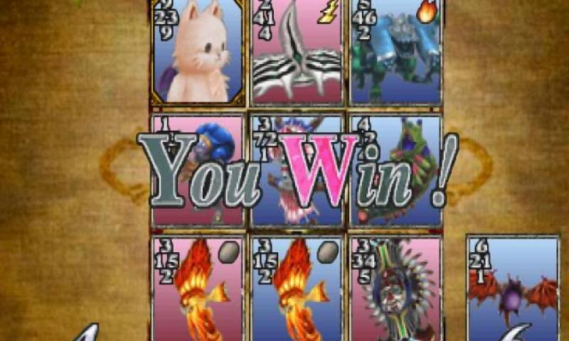 We all win with Triple Triad.