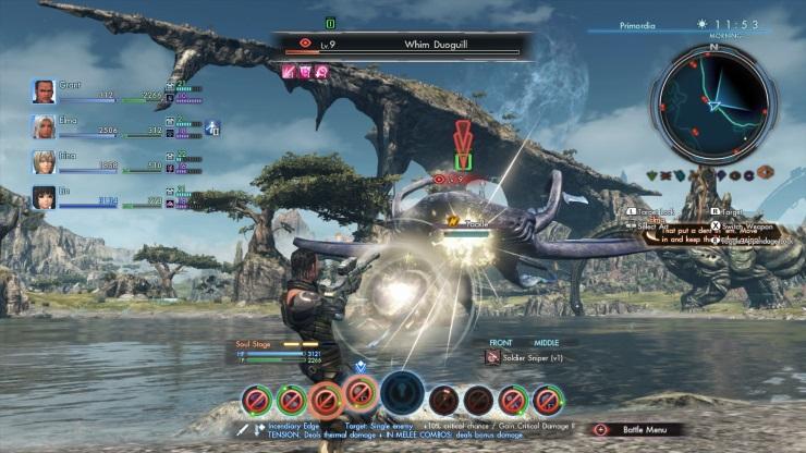 Xenoblade Combat