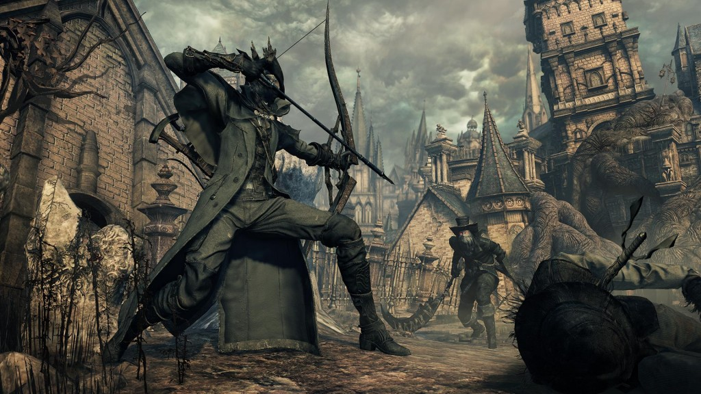 Bloodborne the Old Hunters Game Play