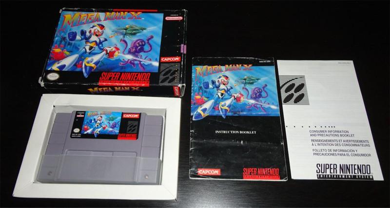 Mega Man X CIB