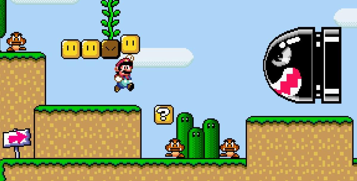 Super Mario level