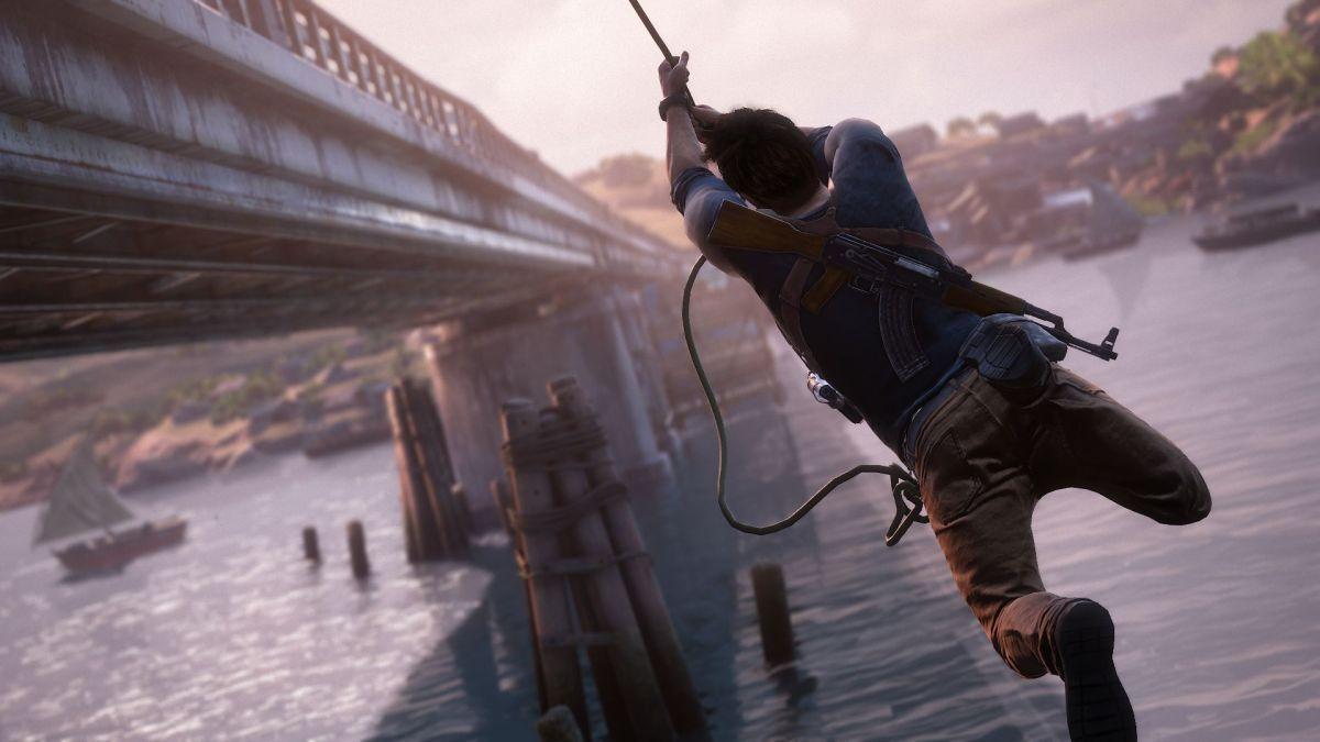 Drake Swinging