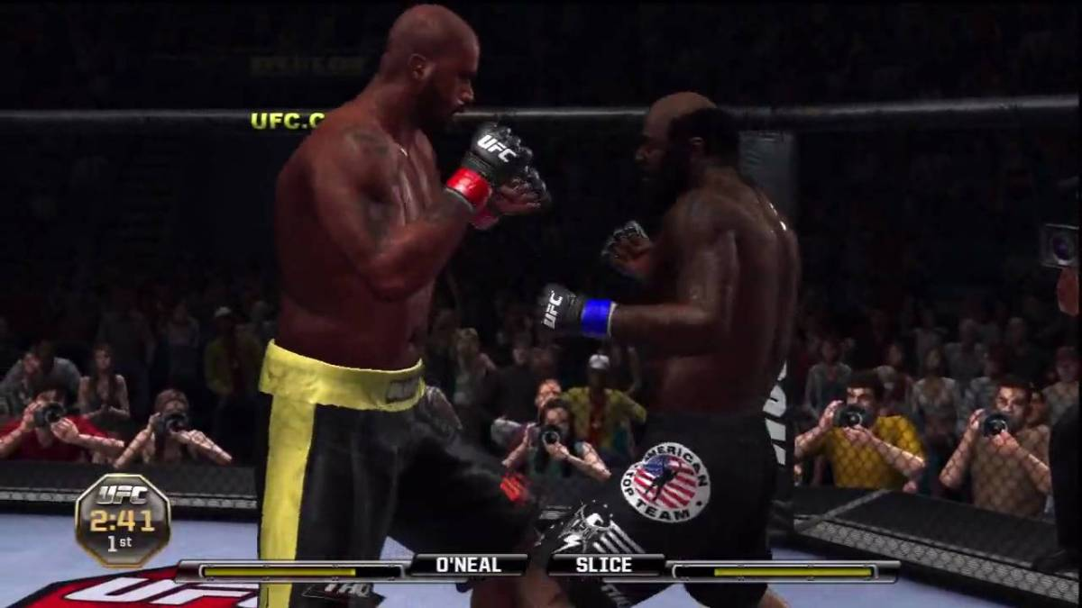 shaquille o neal ufc 2010