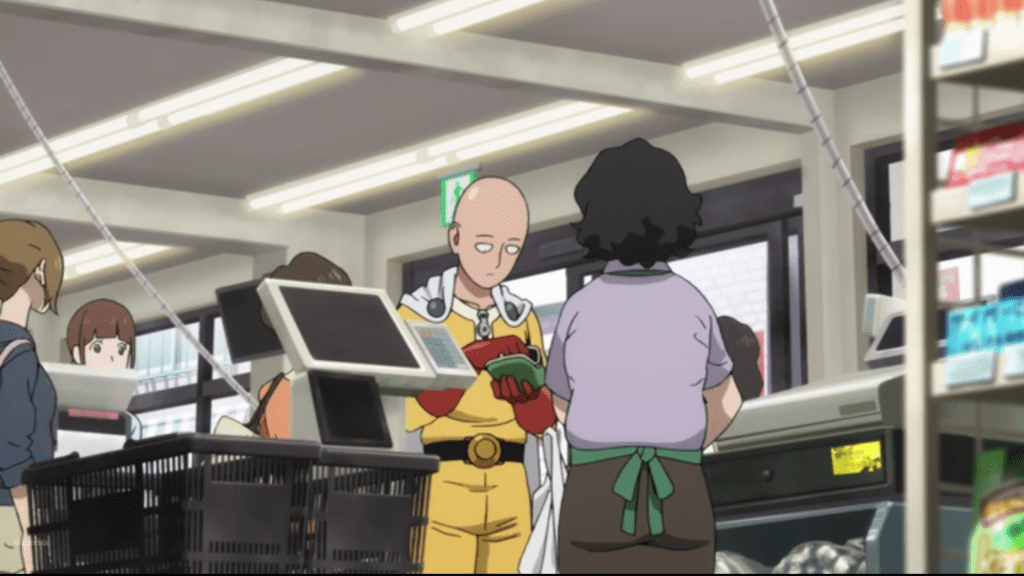 One Punch Man Ep 1 Cap 4