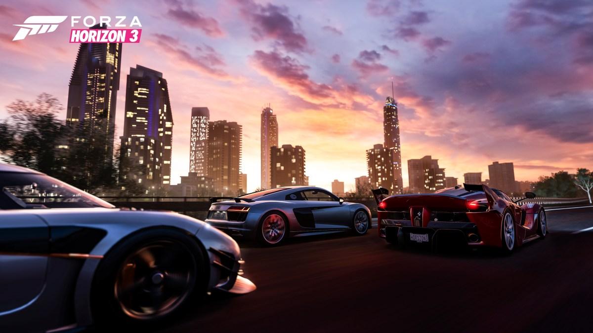 Forza Horizon 3 City Skyline