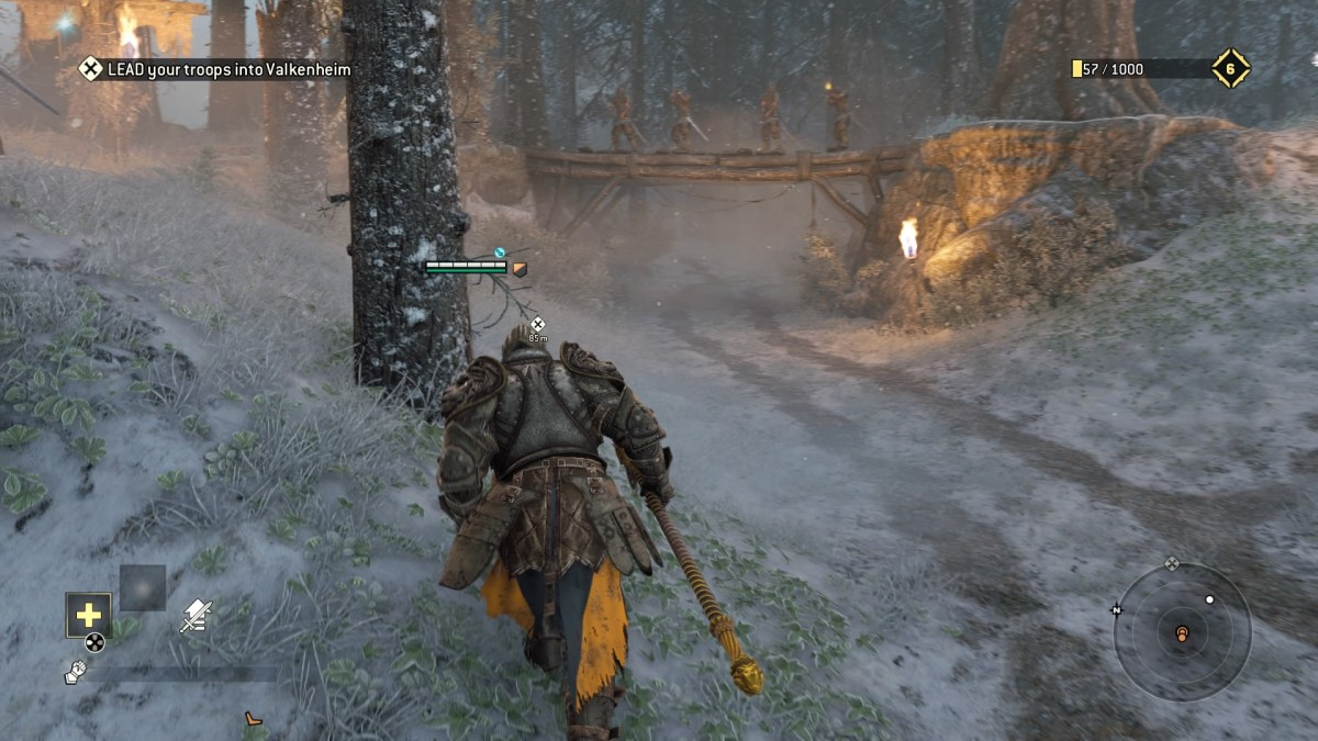 for honor running