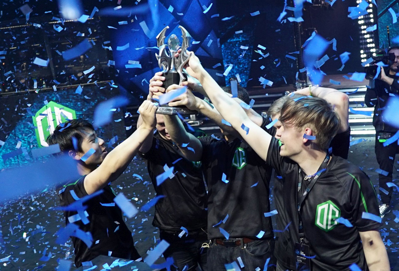 DOTA 2 Kiev Major Winners OG
