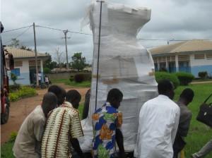 culla termica ecografo ospedale Bocanda
