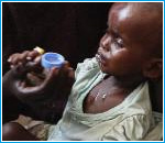 Somalia bimbo malato