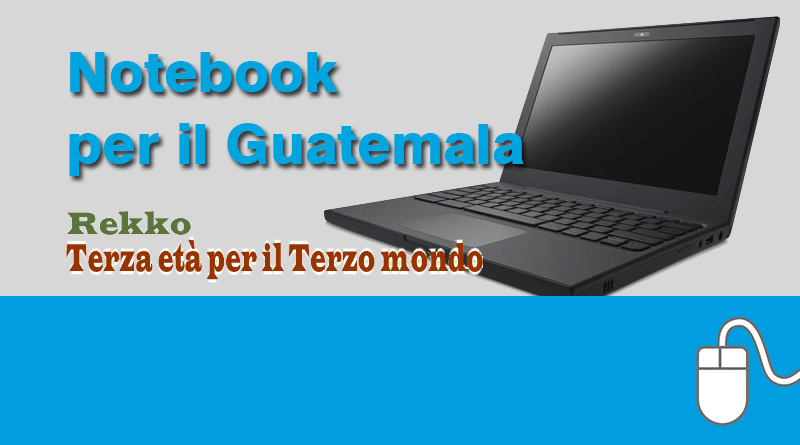 Notebook per gli ambulatori medici in Guatemala