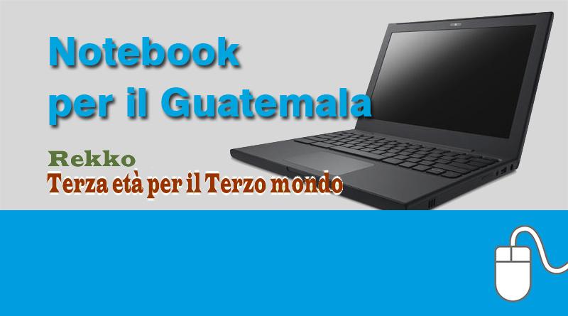 Notebook per gli ambulatori medici in Guatemala