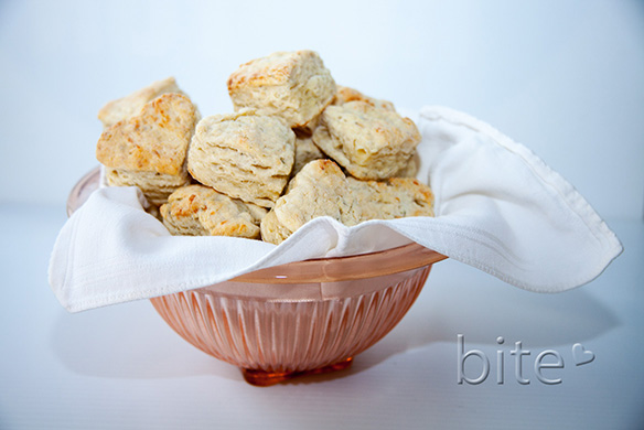 blue cheese biscuits for a Maritime kitchen party