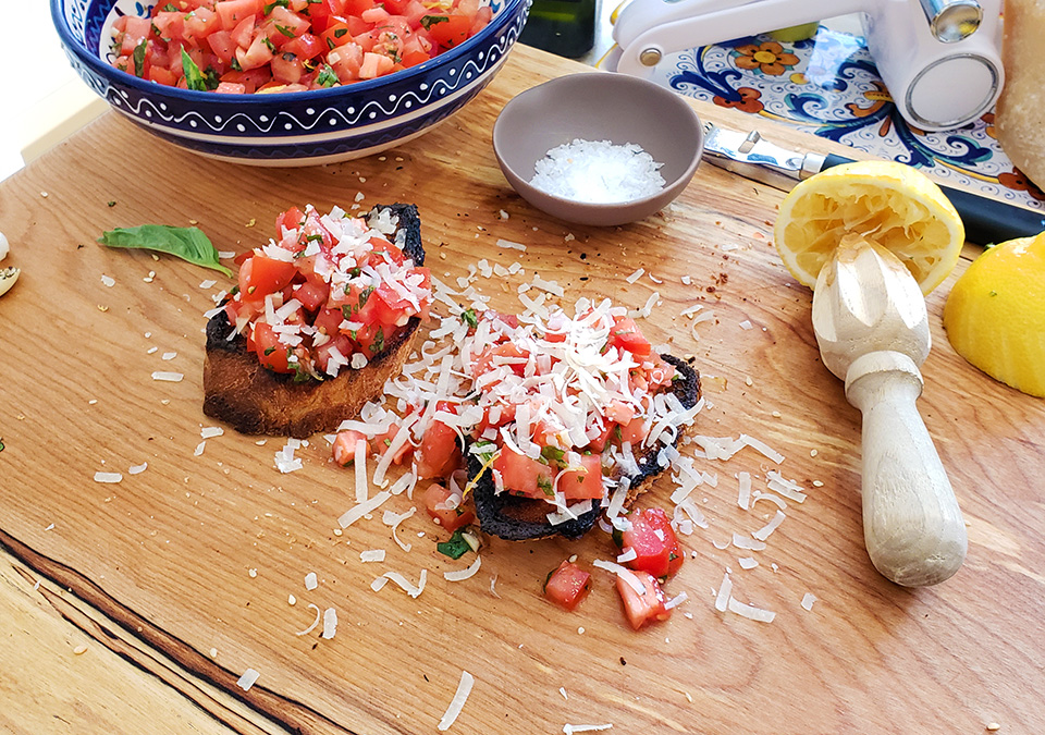 bruschetta – simply stunning when made with love