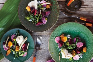 grilled beets with burrata