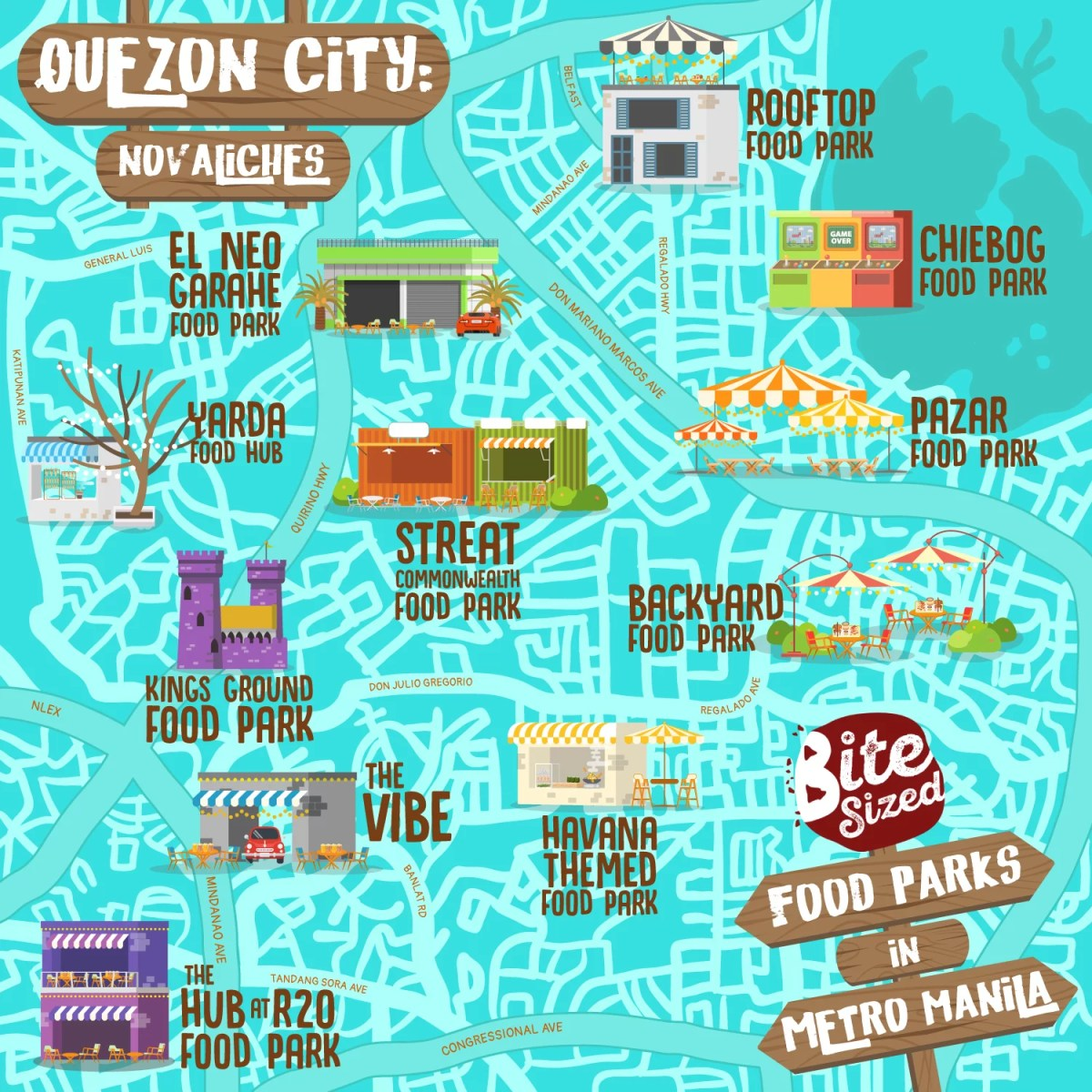 food parks in quezon city novaliches