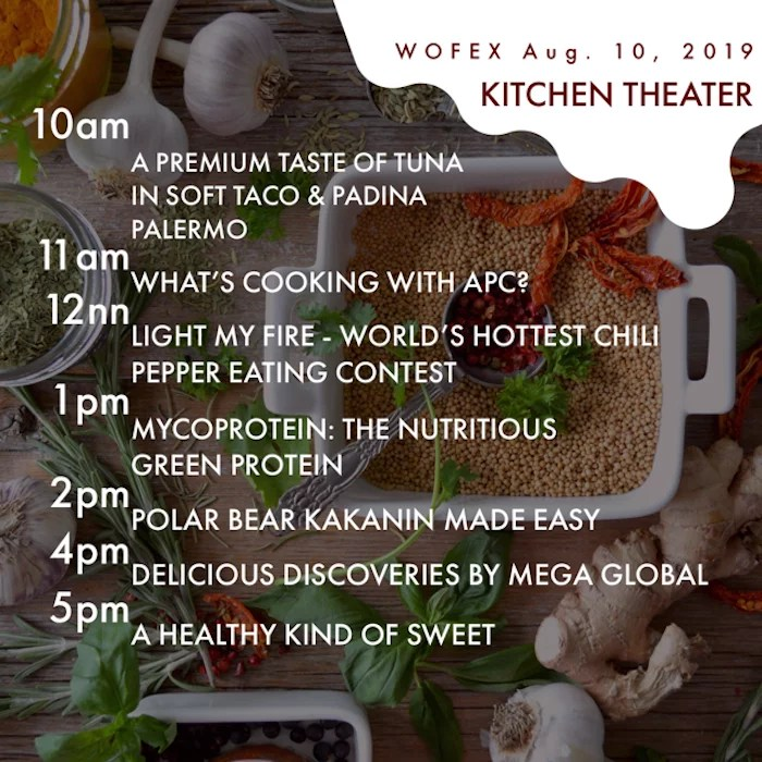 WOFEX 2019 kitchen theater