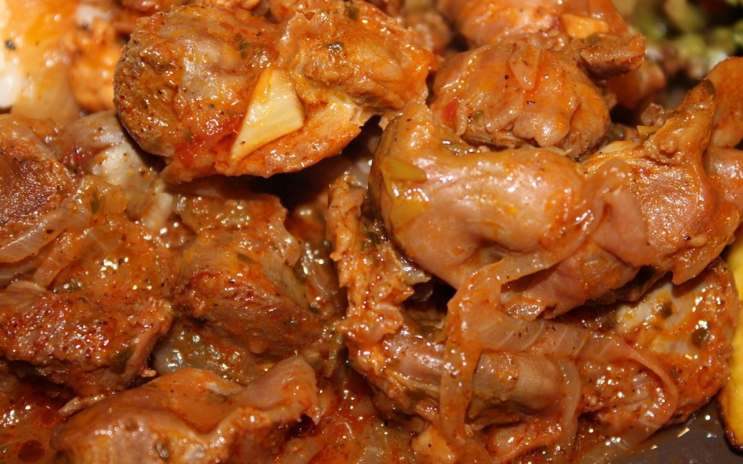 Braised chicken gizzards recipe: a treat for adventurous palates!