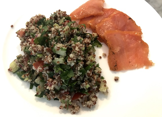 Quinoa Cilantro Tabbouleh – An easy and nutritious salad