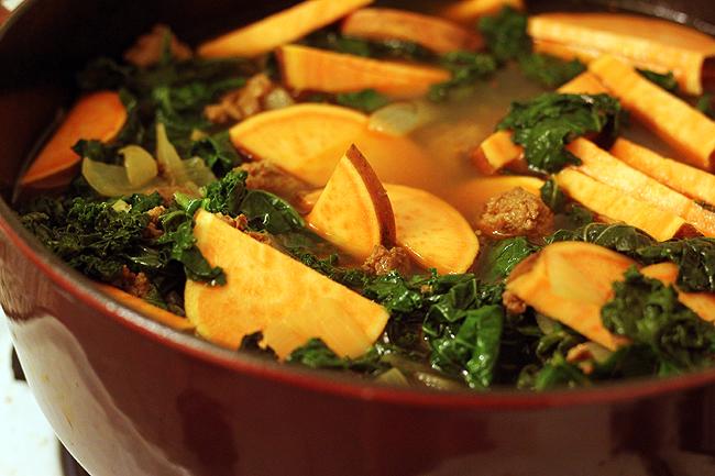 sausage soup 3