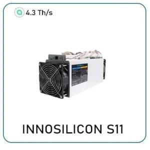 Innosilicon S11 SiaMaster Algorithm Miner