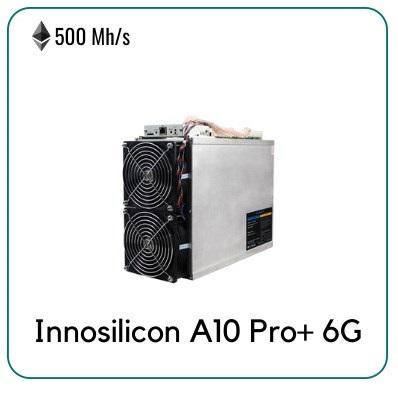 Innosilicon A10 Pro+ 500MH/S