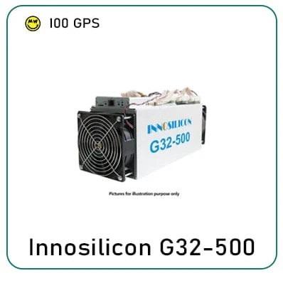 INNOSILICON G32 500 MINER Cuckatoo31/32