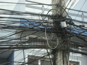 Tangled Power Lines