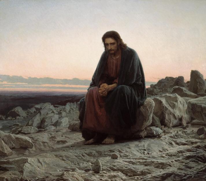 isus u pustinji, isusove kušnje