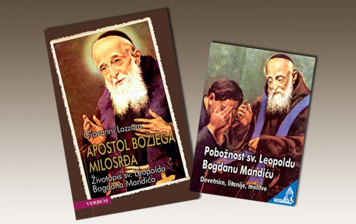Leopold Bogdan Mandic - knjige - za web