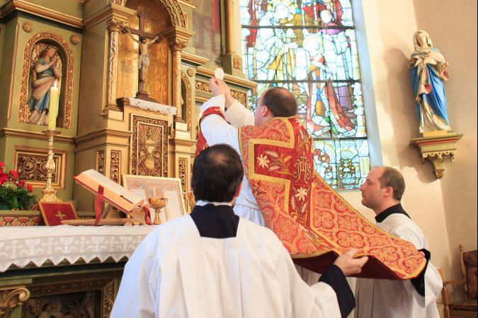 Tradicionalna latinska misa u sv. Martina
