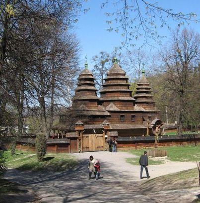 Crkva se nalazi u Lavovskom muzeju na otvorenom.