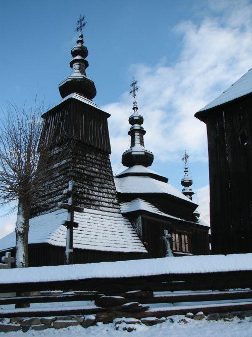 Grkokatolička crkva izgrađena 1742.godine je zapravo identičnog dizajna i okoliša kao i ona u Bodružalu.