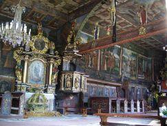 Ova crkva se povezuje s obnovom katoličanstva Malopoljskog vojvodstva koje je provodio austrijski car Ferdinand III. Obnovljena je od 1816.-19., a toranj je obnovljen 1901. godine. God. 1927. kapela je prekrivena kupolom koja je uklonjena 1935. godine kako bi joj se vratio izvorni izgled.