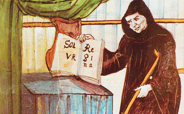 Hermann_Reichenau, Njemački blaženik, blaženi Hermann, napisao Zdravo Kraljice