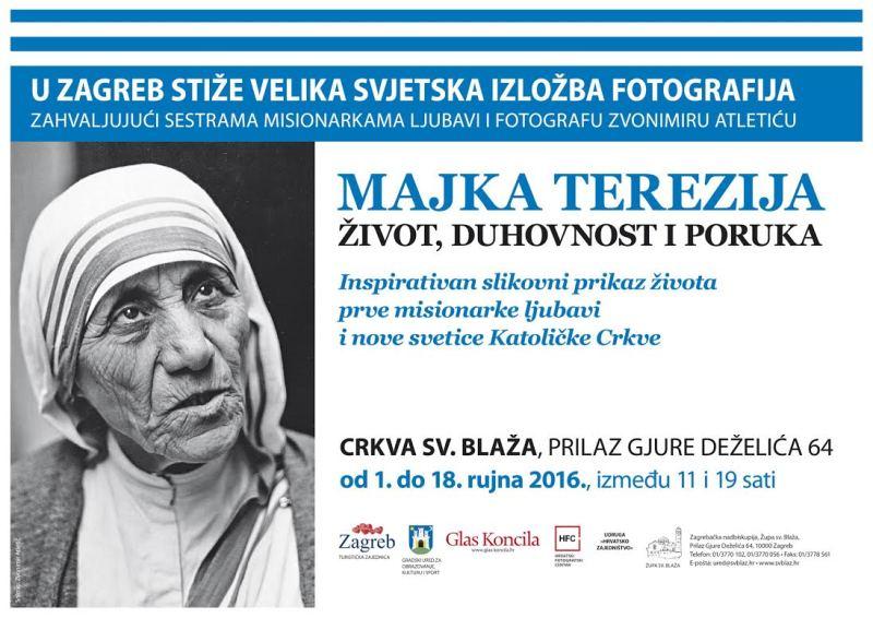 Izlozba fotografija Majke Terezije