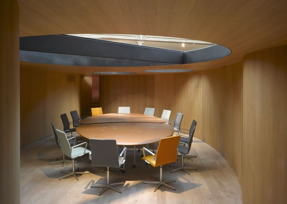 Conference Room Cave Interior Design