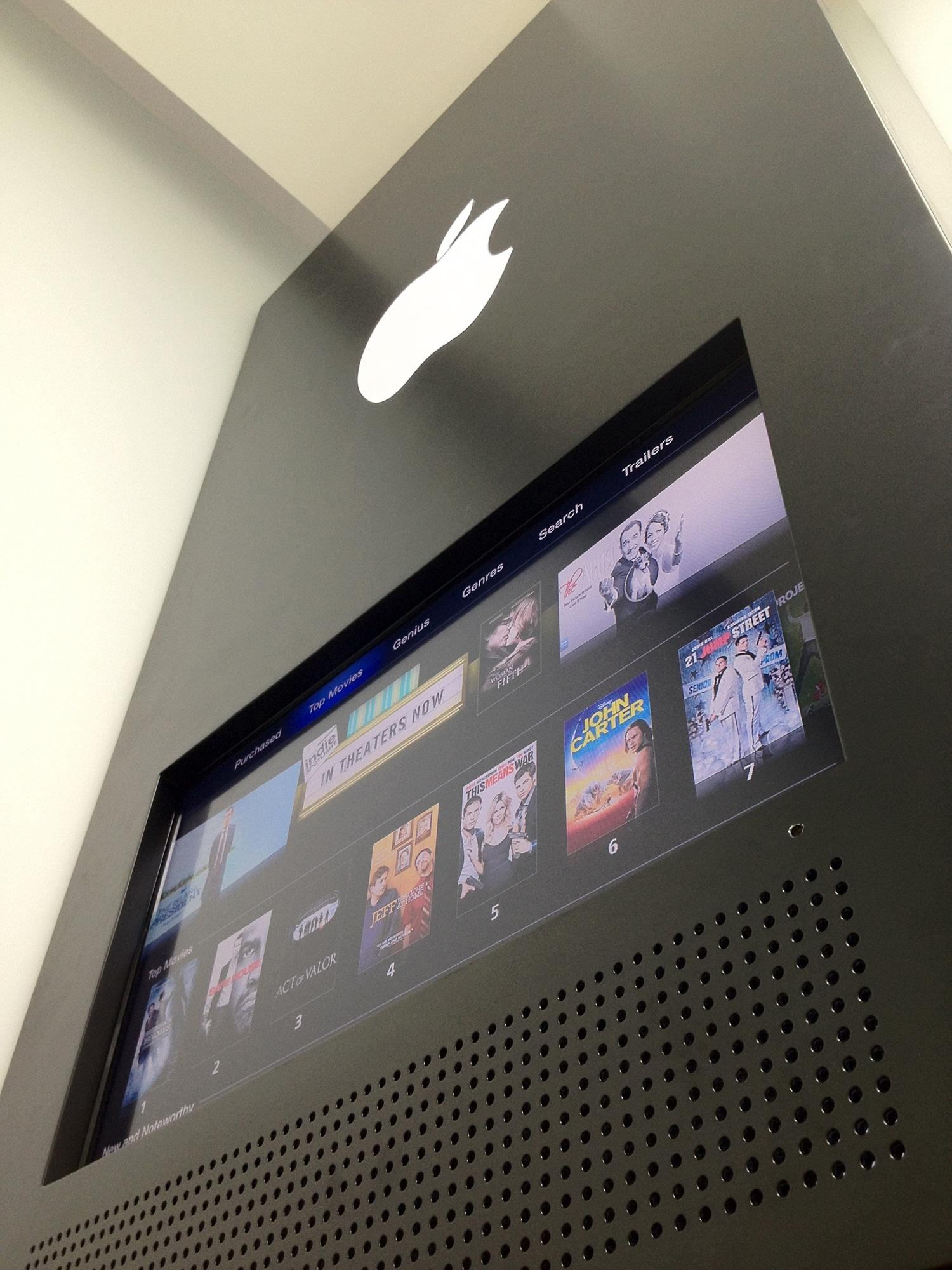 An Insane Apple Store Inspired Home Office Design