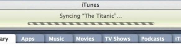 Syncin the titanic